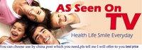 Средство для отбеливания зубов As seen on TV 10Pcs/Lot + WhiteLight 10 WhiteLight M2012