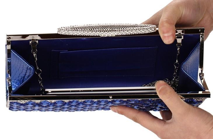 2014 New Women's Evening Bag Fashion Full Diamond Clutch Rhinestone