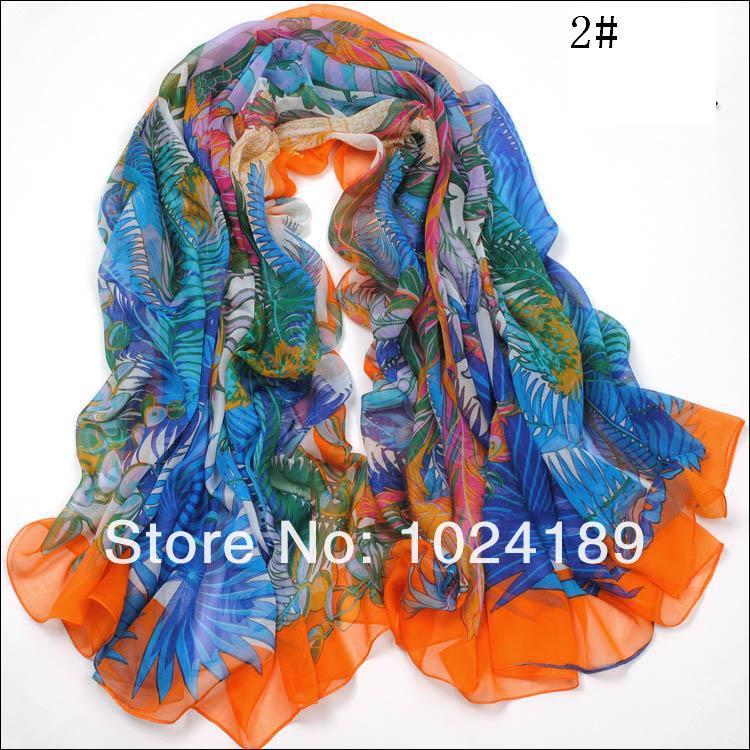 new2016womenscarf /100% pure silk winter chiffon georgette large square women scarves shawls&wraps130*130cm women big scarf