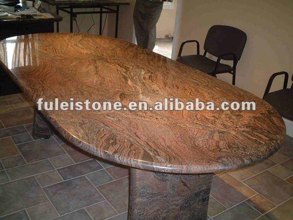 Pulido de granito natural de bases de mesa buen precio for Granito natural precios