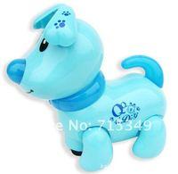 Лучший рождественский подарок электронная собака игрушки с фары звук музыки для детей & детей