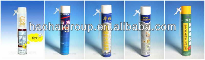 Spray Adhesive Sealant Seal Large Expansion Polyurethane Foam