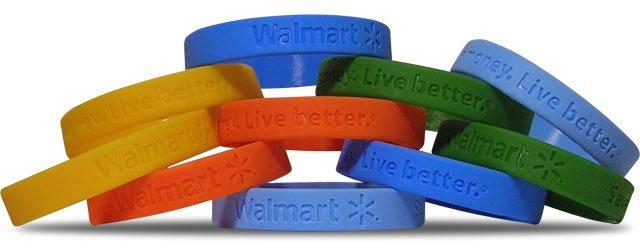 Promotion Rubber Bracelet
