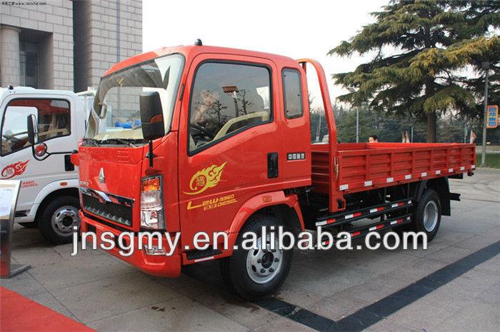 2014 new brand china howo mini truck 4X2 for sale