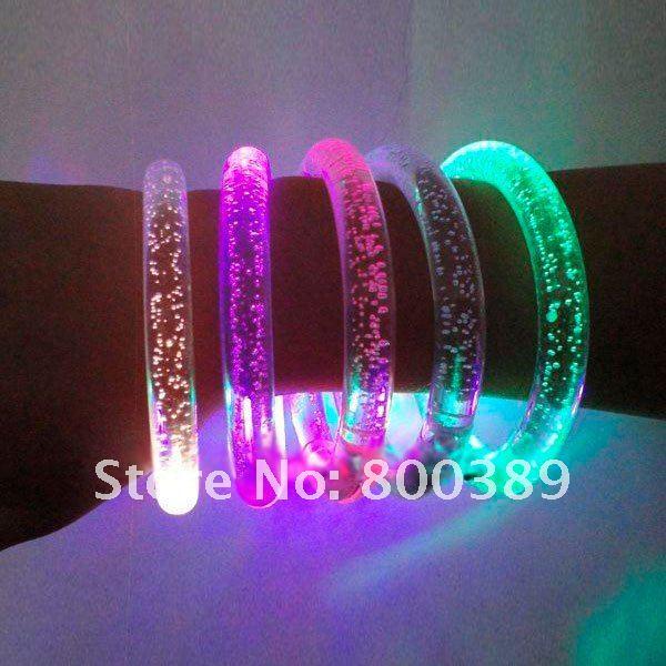 Как сделать светящееся браслет
