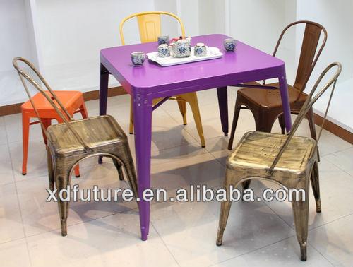 XD-A580 Modern Metal Indoor Outdoor tolix table