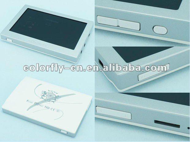 COLORFLY Portable HIFI CK4 MP4 Mini Video Payer