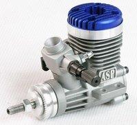 Запчасти и Аксессуары для радиоуправляемых игрушек ASP Sanye 2 Stroke S15A Glow Engine with Muffler for RC Airplane