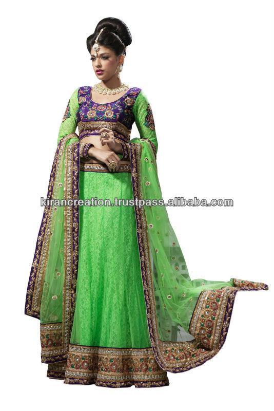 Heavy lacha Lehenga Style Saree