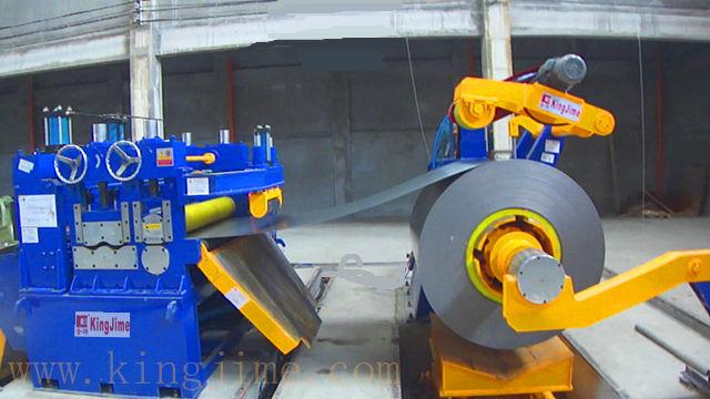 thick plate leveler machine