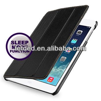 TETDED Premium Leather Case for Apple iPad mini with Retina display -- Quimper (LC: Black)