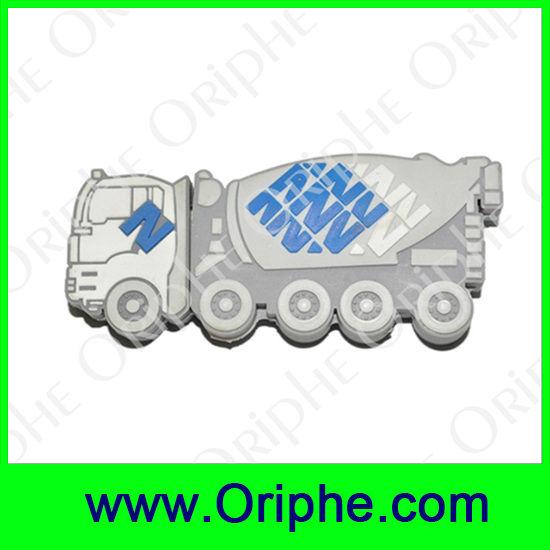 Mixing truck Shape PVC Usb(UPVC0004)