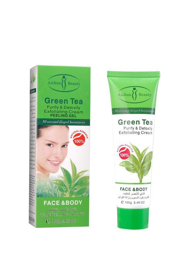 Пилинг из зеленого чая