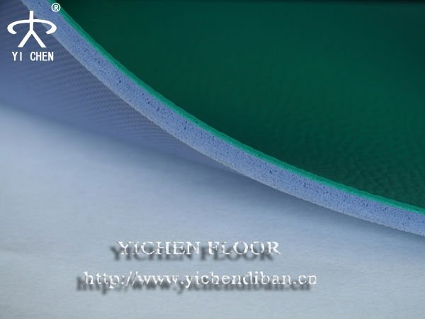 Pvc Foam Flooring Sport Surface Covering