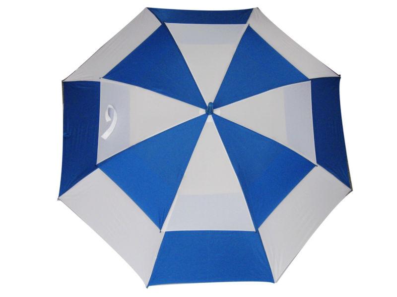 High Quality Rain Umbrella Windproof Double Canopy Golf ...