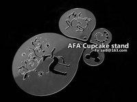 Украшения для выпечки 75-032 Sugar icing sieve mode baking Cappuccino coffee decorating tool