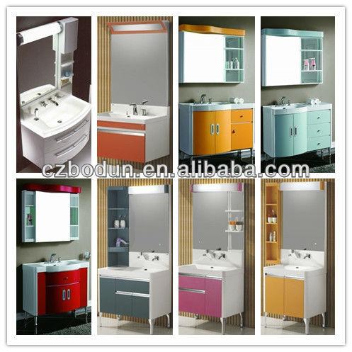 hot PVC bathroom cabinets