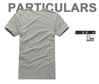 "Футболка 44ST Men`s fashion t-shirt, Num "" 9"", Black/Grey 2 color, all match t shirt, good quality, high grade, - Life&Fun"