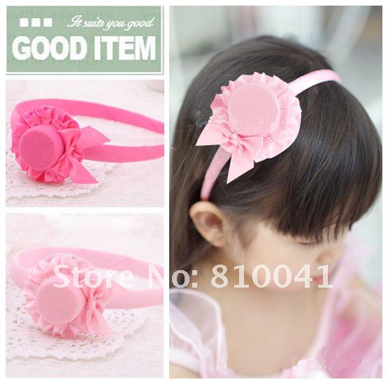Baby's Satin Hair Band Girl's  Headband   Girl's Little Hat Band   Children's Hair Band   Kid's Alice band 50pcs Free Shipping