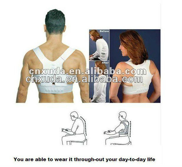 Unisex Orthopedic Magnetic Pain Relief Back Support Belt Back Brace