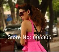 Женское платье flouncing 6373