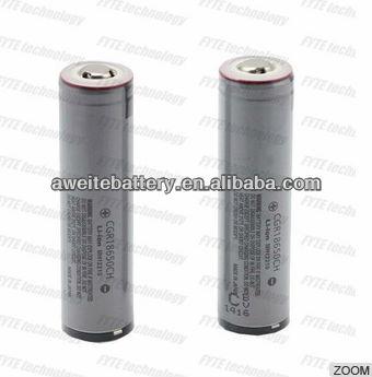 High quality 3.7v cgr18650 2250mAH battery 18650 battery
