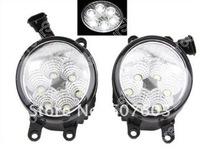 LED Fog Lamp Xenon White Light 12W Toyota Camry Corolla Prius RAV4 Reiz Yaris