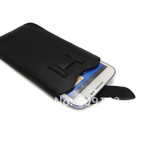 Hot New PU leather Pouch Sleeve Bag Pull Tab Case for Samsung Galaxy Note 2 n7100 Phone Case