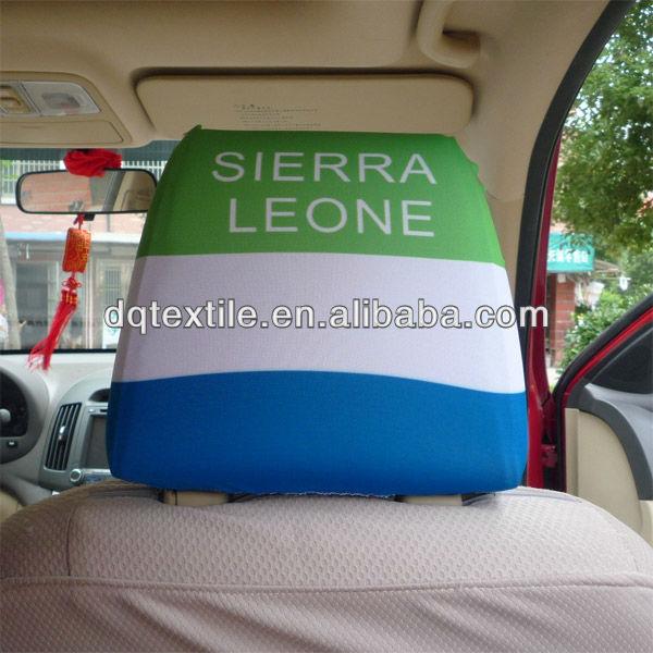 UK British Union Jack Spandex Car seat Headrest cover