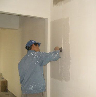Interior wall putty