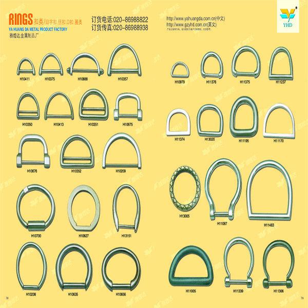 Fashion custom metal belt buckle in bag parts&metal fitting
