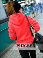 Женские толстовки и Кофты 2012 New Style Korean Women Leisure Sports Hoodie Set Fleeces Sports Suits Three-piece Thickening of The Sweater