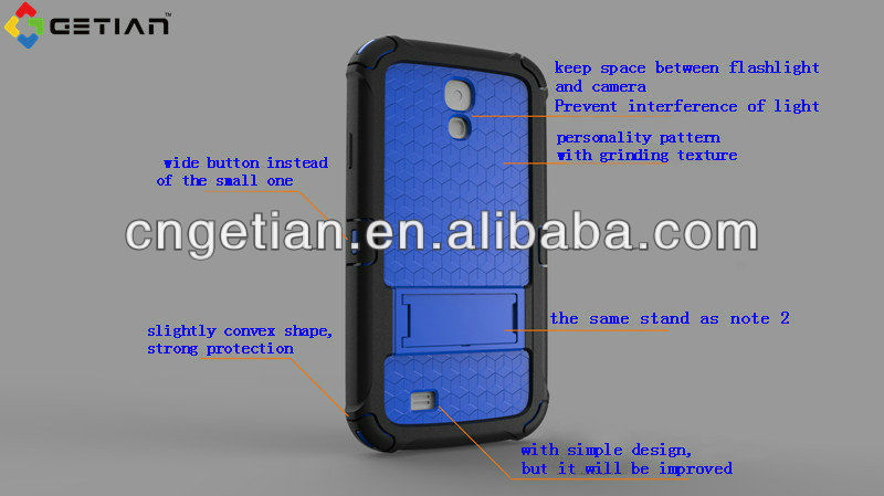 factory manufacturer for samsung s4 case different colors case for samsung galaxy s4
