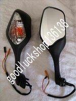 Боковые зеркала и Аксессуары для мотоцикла Hon CBR1000 RR 08-11 09 10 Turn Signal Mirrors LED C03