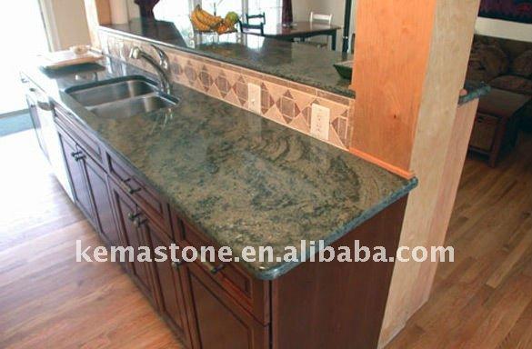 Vanité Salle De Bain Liquidation : Tropical Green Granite Kitchen Countertops