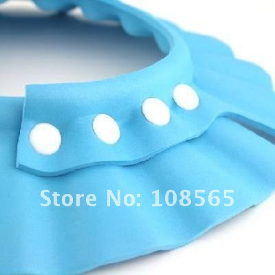 free shipping!!! NEW Adjustable Safe Shampoo Shower Bath Cap for Baby Children