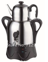 Электрический чайник EMS 1pc Samovar Russian electric kettle, 1L Teapot and 3L Body CW-18A
