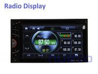 Автомобильный DVD плеер Universal 2 Din Car DVD with Radio Bluetooth iPod ATV USB SD