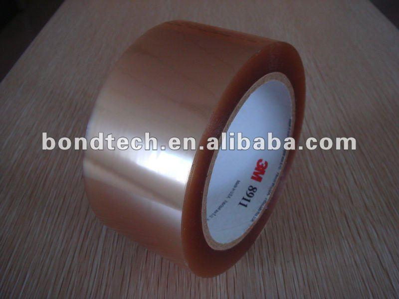 3 M Fita de Poliéster 8911, adesivo de silicone, 0.05mm de espessura, claro