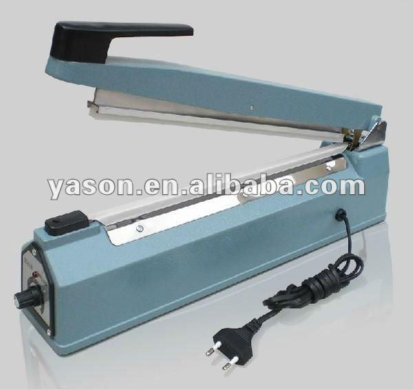 Aluminium Bag Sealer machine with sealing length 400mm