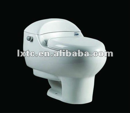 bathroom ceramic siphon one piece toilet