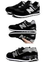 Мужская обувь для бега The new man leisure sports shoes sneakers shoes Мех На резинке