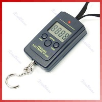 Весы 10g-40Kg Digital Hanging Luggage Fishing Weight Scale