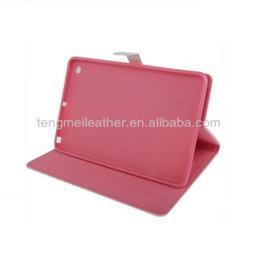Cute case for ipad mini ,hello kitty leather case for ipad mini