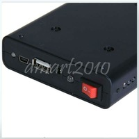 Зарядное устройство ship, New Black Universal 2A Mobile Power Supply USB Battery Charger 18650 Box