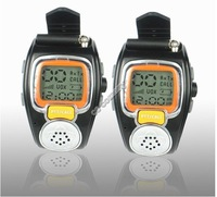 Free shipping!! 2PCS 2-WAY Radios Freetalker Wrist Walkie Talkie Watch