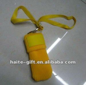 Mobile phone sock holder