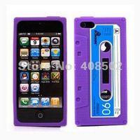 Чехол для для мобильных телефонов Retro iTape Deck Cassette Tape Back Case Cover Skin For Apple iPhone 5 5G Flexible Gel Soft Silicone Multicolor 10pcs/lot CA5006