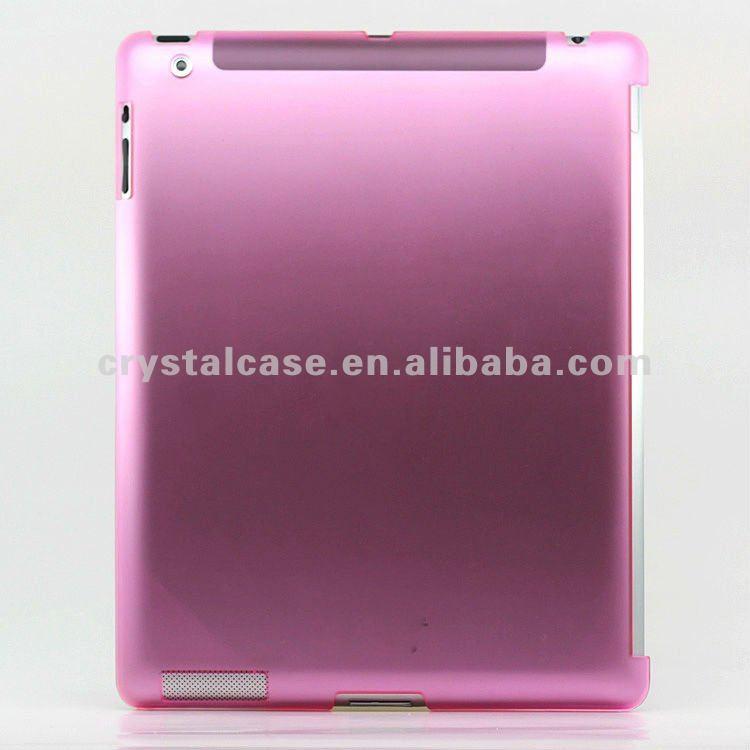 2012 hot pc matte case for ipad 3