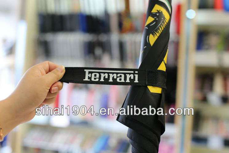 Ferrari golf umbrella for gift and promotion